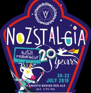 Wye Valley Brewery Nozstalgia beer badge
