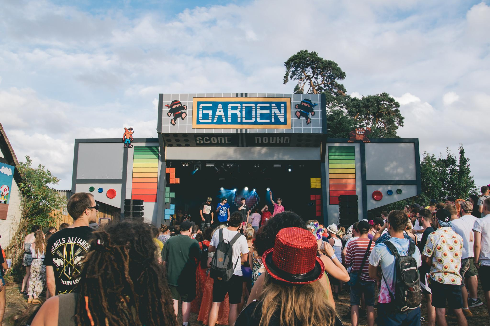 Garden stage image