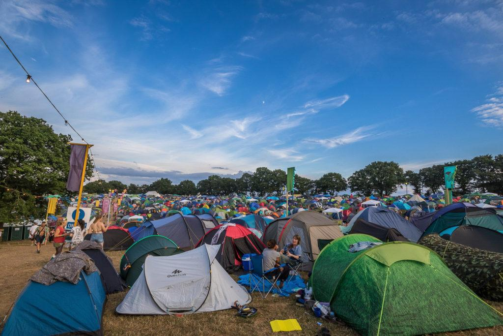 Taff W - Nozstock 2018 campsite