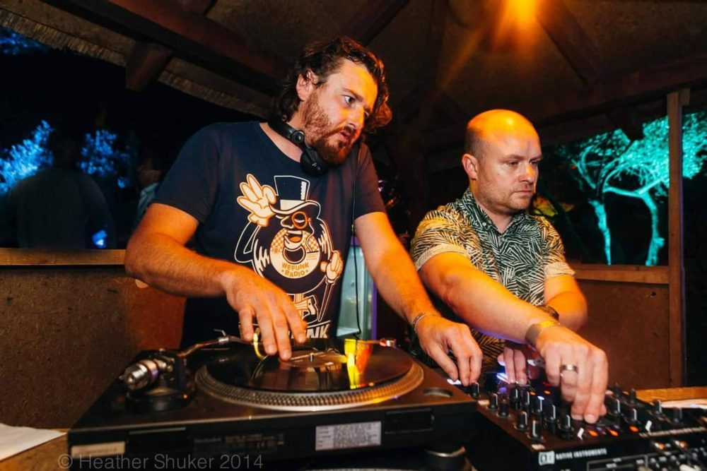 DJs on the decks