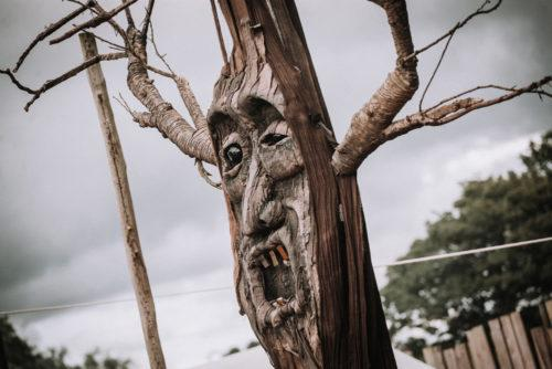 haunted forest creature